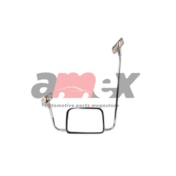 Side Mirror Nissan Urvan E24 1987 Onwards Chrome W/stand Lhs